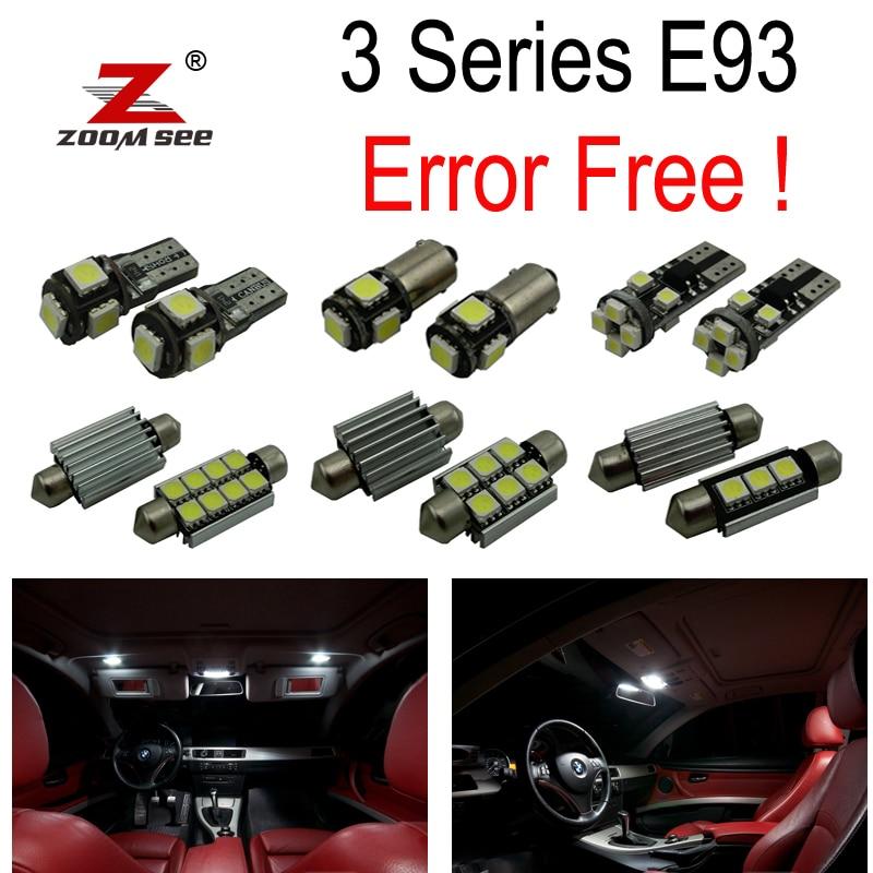 20pc X E93 LED Bulb Interior Light Kit signal for bmw E93 328i 335i 335is M3 convertible (2006-2012)<br>