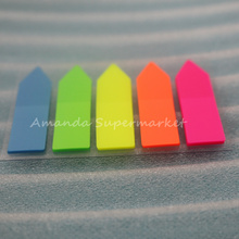 5 sets( 500 Pages) Pages Sticker Bookmark Memo Flags Sticky Notes sticker(China)