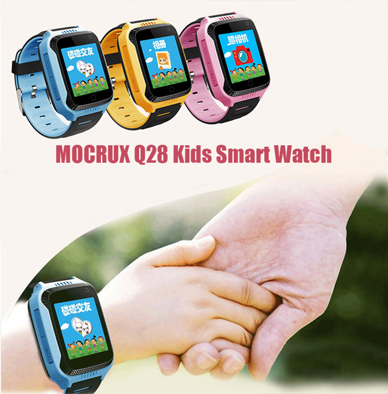 MOCRUX Q528 GPS Smart Watch With Camera Flashlight Baby Watch SOS Call Location Device Tracker for Kid Safe PK Q100 DZ09 Q18 (1)