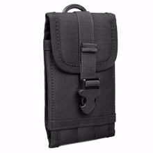 For Multi Phone Model Hook Loop Belt Pouch Bag MOLLE Tactical Smartphone Pouch Case Bag Belt For iPhone 6 Plus 5.5''