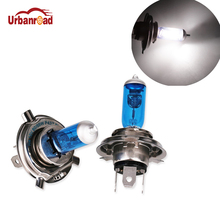 Buy 2Pcs/Pair H4 55W 60W Halogen 6000K High Low Beam Light Headlight Bulb Auto P43T H4 6000K DC12V Xenon White Car Fog Lamp for $3.25 in AliExpress store