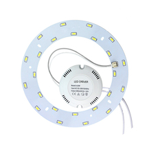 high-brightness 5730  6W  8w 12w 15w 18w 24w LED ring magnetic plate  220V to replace 50W LED ceiling light ring of old 2D tube
