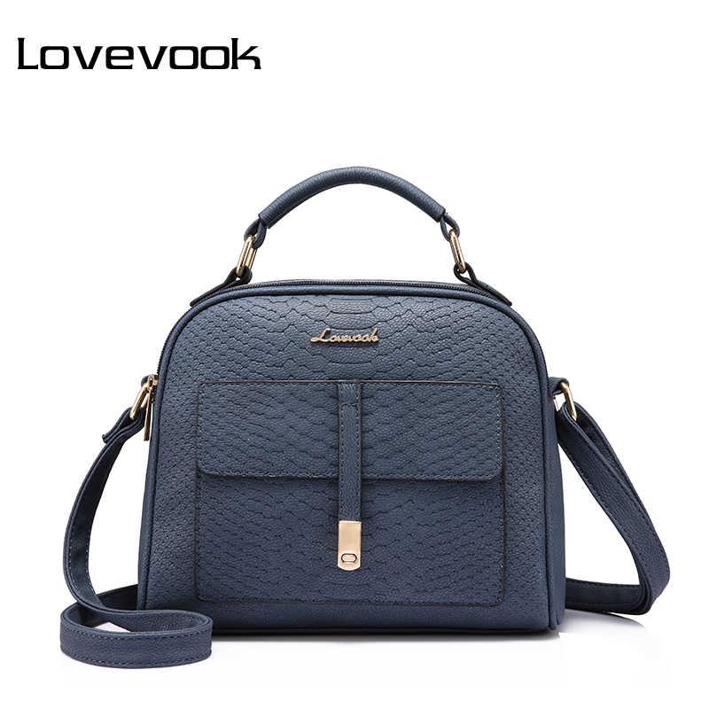 LOVEVOOK бренд сумка женская через плечо ПУ высокого качества дамкие женские  сумки с короткими ручками на 9deb3da98ea