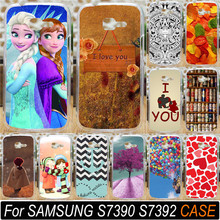 For Samsung Galaxy Trend Lite S7390 S7392 7390 7392 Print Love You Beer Moon Cute Littel Girl Phone Case Cover Shell Hood Capa