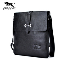 CROSS OX 2016 Summer New Arrival Genuine Leather Men's Messenger Bag Shoulder Bags For Men Cross Body Bag iPad Portfolio SL366M