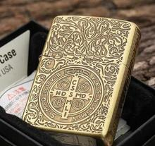 Constantine lighter sides carved metal attached present hell detective Constantine Oil lighters original packaging box