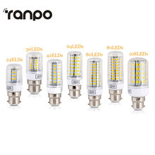 B22 Bayonet LED Corn Lights SMD 5730 Energy Saving Bulbs 7W 12W 15W 20W 25W Leds Lamp Bombillas Light Lampada Ampoule Lighting(China)