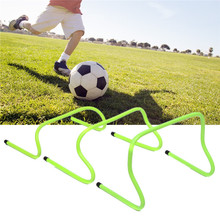 Best Deal Soccer Hurdle Training Barrier Frame Football Mini Hurdle Removeable For Jump Running Soccer Speed Training Agility(China)