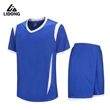 Men Kids Football Kits Boys Soccer Sets Jersey Uniforms Futbol Shirts Shorts Training Suits Short Sleeved Jerseys $1.8 to Custom(China)