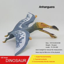 Hot toys Jurassic blue Anhanguera Plastic Dinosaur Toys Model Action Figures Boys Gift toys for children(China)