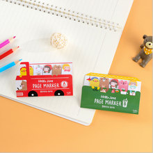 Cute Kawaii Cartoon Bus Animals Sticky Notes  Memo Pad Office School Supplies Planner Stickers Paper Bookmarks Stationery  BQB2