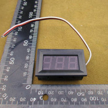 1pcs/lot DC Digital Voltmeter 0-99.9V RED  LED Digital Panel Meter 99.9V Voltage Meter DC Power Monitor #0101