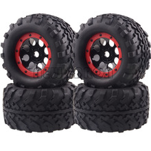 AX-3011 4P Off-Road Truck Beadlock 17MM wheel & tire RC 1/8 Traxxas TAMIYA AXIAL