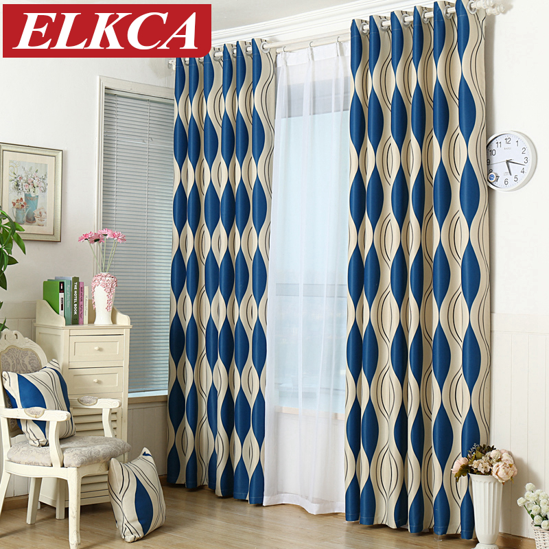 Buy blue curtains