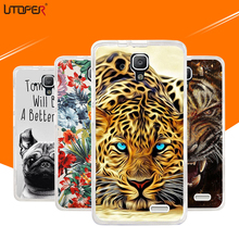 Fashion Animal Case For lenovo a536 Case Soft Silicon TPU Cover lion dog Flower Mobile Phone Bags Fundas For lenovo A 536 Cases