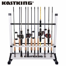 "KastKing New Fishing Rod Rack Holder Dimension 28.5""x29""x13"" Capacity 24pcs All types of Fishing Rod Combo(China)"