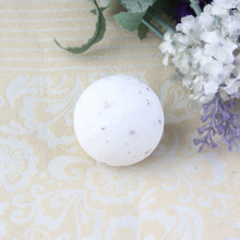45G Rose Dry Flower Natural Bubble Bath Salts Ball Bomb Home Bathroom Essential Spa Bath Fizzy Aromatherapy Bath Bomb Hot New