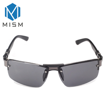 MISM Cool Men Fashion Mirror  Sunglasses  Unique Style Driving Glasses For Male