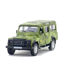 RMZ City 1:36 Alloy Pull Back 5 Inch Lland Rover Defender Sports Car Model Children's Toy Car Original Authorized Authentic Kids