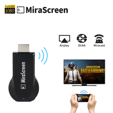 HDMI wifi display Dongle Mirescreen DLNA Airplay Miracast TV Stick Media Player 1080P Multi-display VS Ezcast Anycast Chromecast(China)