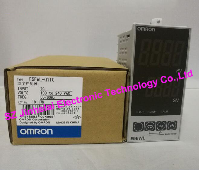 100%New and original  E5EWL-Q1TC,  E5EWL-R1TC    OMRON  Temperature controller AC100-240V<br>