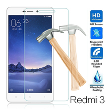 For Xiaomi Redmi 3s Tempered Glass 9H 2.5D Premium Screen Protector Film For xiaomi Mi Redmi 3 s x 3x Pro Prime mobile phone