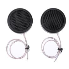 Buy 2pcs 380W Car Speakers Dome Tweeter Car Refitting Coil Speaker Kit High Frequency Components Mini Tweeter Speaker High for $3.05 in AliExpress store