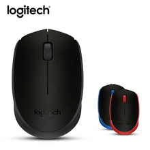 Logitech Wireless Mouse Gaming M171 Original Mice 1000dpi Optical Ergonomic Mini Usb Mouse Receiver for PC Laptop With Package