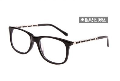 RBspace  Computer goggles blu ray anti fatigue Women radiation-resistant glasses box myopia Radiation proof glasses frame Ms<br><br>Aliexpress