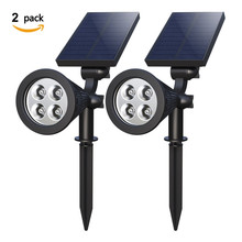 New Energy Cast Light Projection Lamp Solar Grass Lamp Landscape Lighting(China)