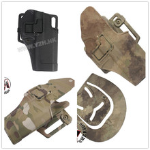 Hot Sale  Outdoor Tactical gun Holster EMERSON Military Airsoft Hunting Belt Holster Right Hand Pistol Holster Case For Glock 17