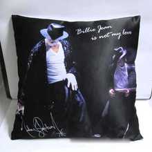 Michael Jackson Cushion Pillow Cover Case 5pc Billie Jean Man In The Mirror style NO.6 -NO. 10