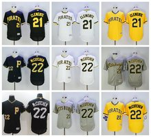 MLB PITTSBURGH PIRATES Andrew McCutchen Roberto Clemente jerseys(China)