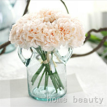 High quality 1 Bouquet 5 heads silk flowers artificial fake flower peony wedding party home decoration flower craft FH241