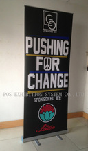 Cheapest Roll Up Banner Stand, Economical Roll up Banner Display Stands W/Fine Quality(W/Graphic Printing)