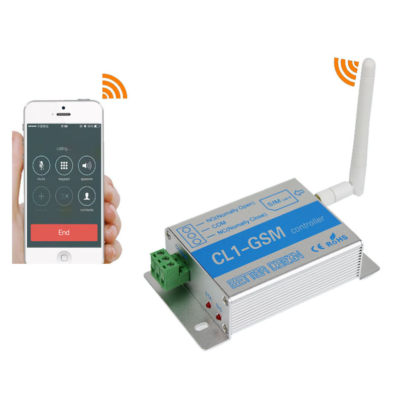 GSM SIM Card Phone/Call/SMS Remote Electrical Electric Relay Switch for Water Pump motor<br>
