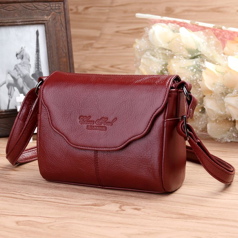 2016 New Hot sale High Quality Genuine Leather Womens Handbags Fashion Womens Messenger Bag Ladies Crossbody Bags<br>