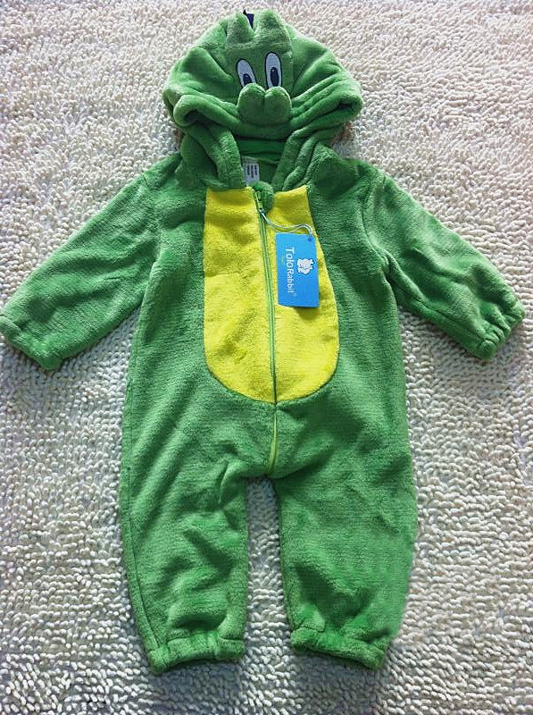 Newborn Boy Girls coral Fleece Baby Clothes Warm Hooded Romper<br><br>Aliexpress