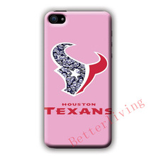 Houston Texans Pink Diamonds fashion cell phone case cover for samsung galaxy S3 S4 S5 S6 edge S7 edge Note 3 4 5 #R386
