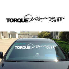 Car Styling For Torque Speed Grid Flag Front Post Wind Reflective Car Sticker File Windshield Posts After Jdm