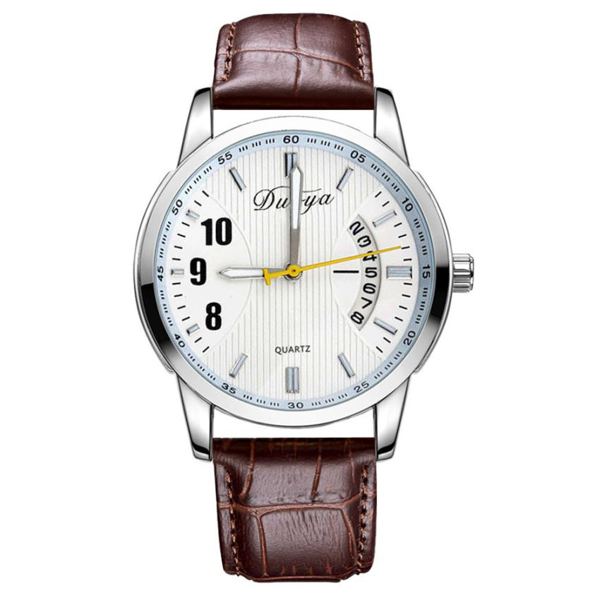 Brand New Women Watches Luxury Design Quartz Watch Women Unisex Mens Leather Business Wrist Watches Relogio Feminino Reloj #JO<br><br>Aliexpress