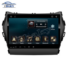 NaviTopia 9inch 1024*600 32G 2GB RAM Quad Core Android 6.0 Car DVD Radio for Hyundai Santa fe 2013 with GPS navigation/wifi/map