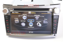 Car Audio GPS Sat Nav Autoradio DVD Player Headunit for Subaru Legacy Outback 2009+ Car Stereo GPS Headunit Multimedia system(China)