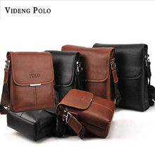 2017 New Arrival High Quality PU Leather Men Messenger Bags 2 Colors Fashion Designer Crossbody Bags  Men's Travel Bags M230