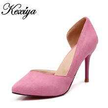 Hot sale ! The new of 206 big Size 34-43 fashion women shoes sweet style Single shoes solid party High heels BD-F4