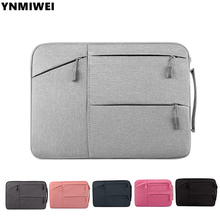 Laptop Sleeve Handbag For Apple Macbook Air 11 13.3 15 portable ultra-slim Laptop Bags for Macbook air retina protective sleeves(China)