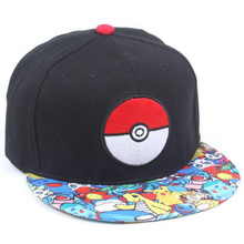 Cartoon Pokemon Pikachu Hat Yellow Plush Toy Doll Cap for Men Women Cosplay Performance Accessories 8AA514(China)