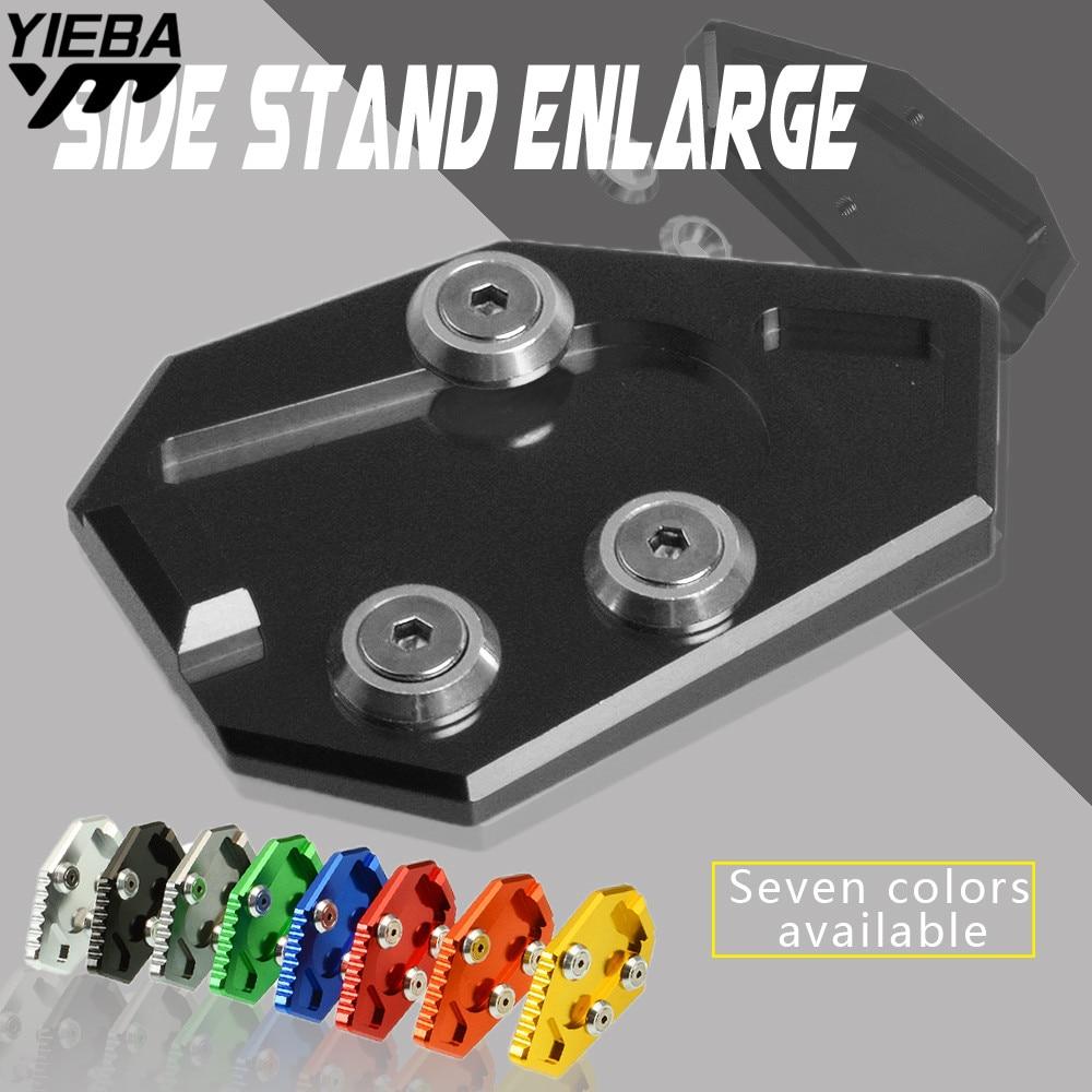 Motorcycle Bike CNC Kickstand Side Stand Plate Pad Enlarge Extension FOR HONDA CBR1000R CBR 1000 R CBR1000R CBR 1000R 2008-2015