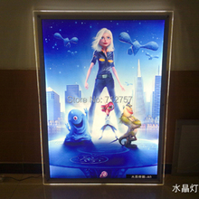 Crystal LED poster displays A1 Size