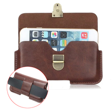 "Universal Horizontal Wallet Buckle Bag Wallet Hook Loop Belt Pouch PU Leather Case For iPhone 6 6s 7 4s 4 5s 5c SE 4.7"" Below"